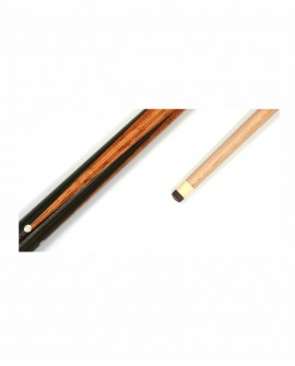 Queue de Billard Carambole - 145cm 490g Bois Ramin massif