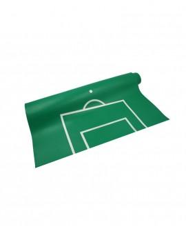 Tapis vinyle vert tracé pour Chauvelin C15