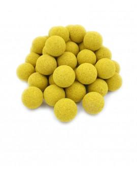Balles de baby-foot jaunes en liège x50