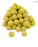 Balles de baby-foot jaunes en liège x100