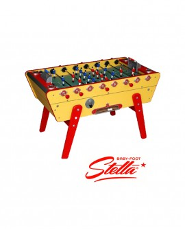 Baby-foot Stella Champion Collector Jaune