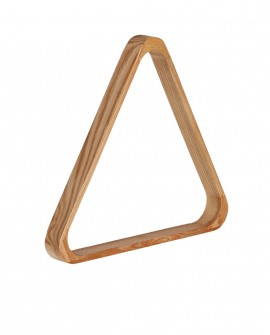 Triangle de billard en bois