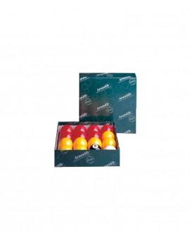 Billes Aramith 50.8mm pour Pool Anglais