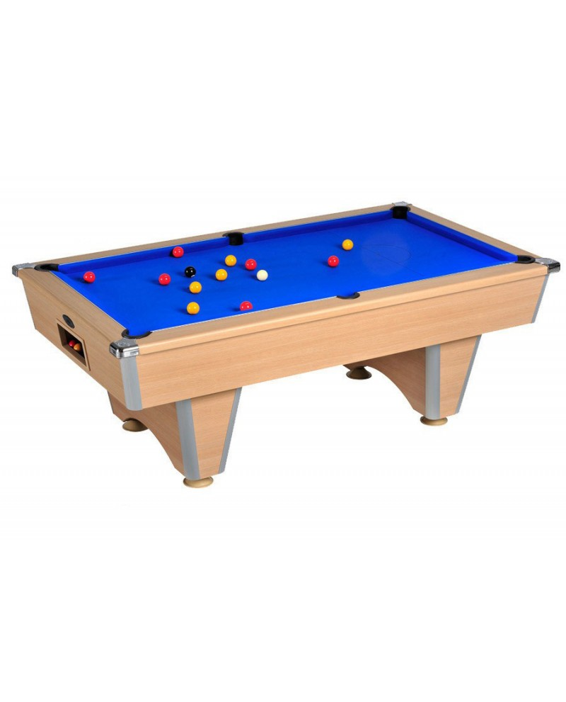 Table billard de caf domestic ch ne clair pas cher - Table billard pas cher ...
