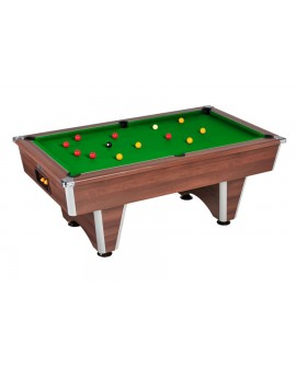 Table billard de café Domestic noyer