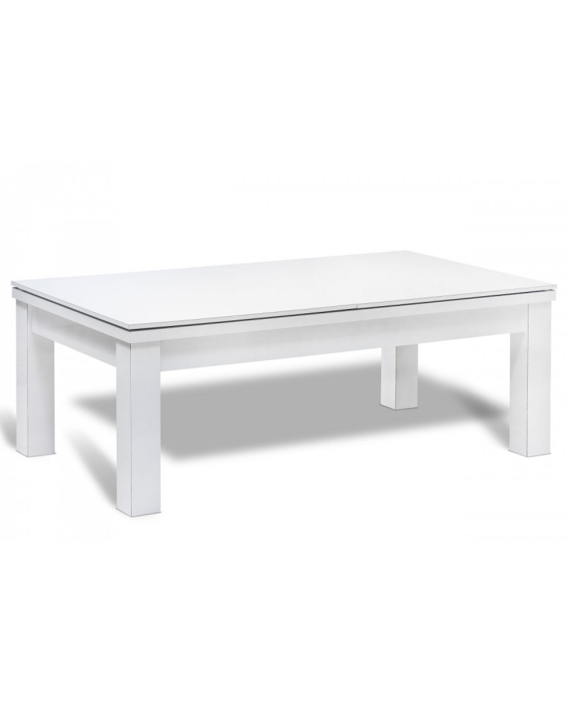 table billard convertible bahia blanc pas cher billard. Black Bedroom Furniture Sets. Home Design Ideas
