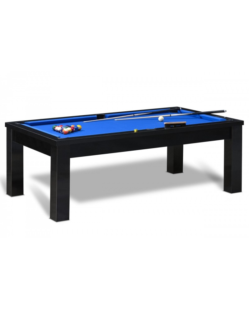table billard convertible brasilia noir pas cher billard. Black Bedroom Furniture Sets. Home Design Ideas