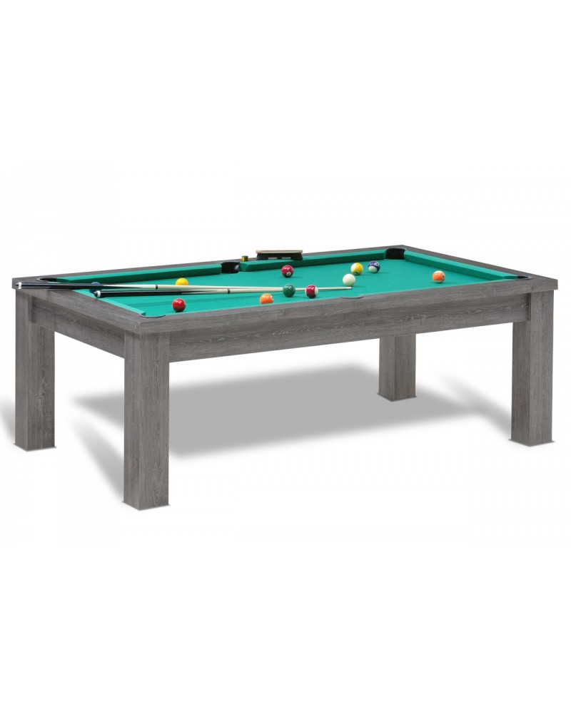 table billard convertible salvador ch ne anthracite pas. Black Bedroom Furniture Sets. Home Design Ideas