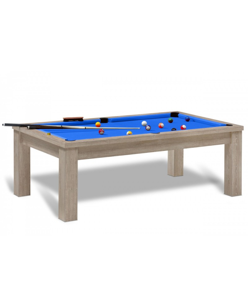 table billard convertible belem ch ne naturel pas cher. Black Bedroom Furniture Sets. Home Design Ideas