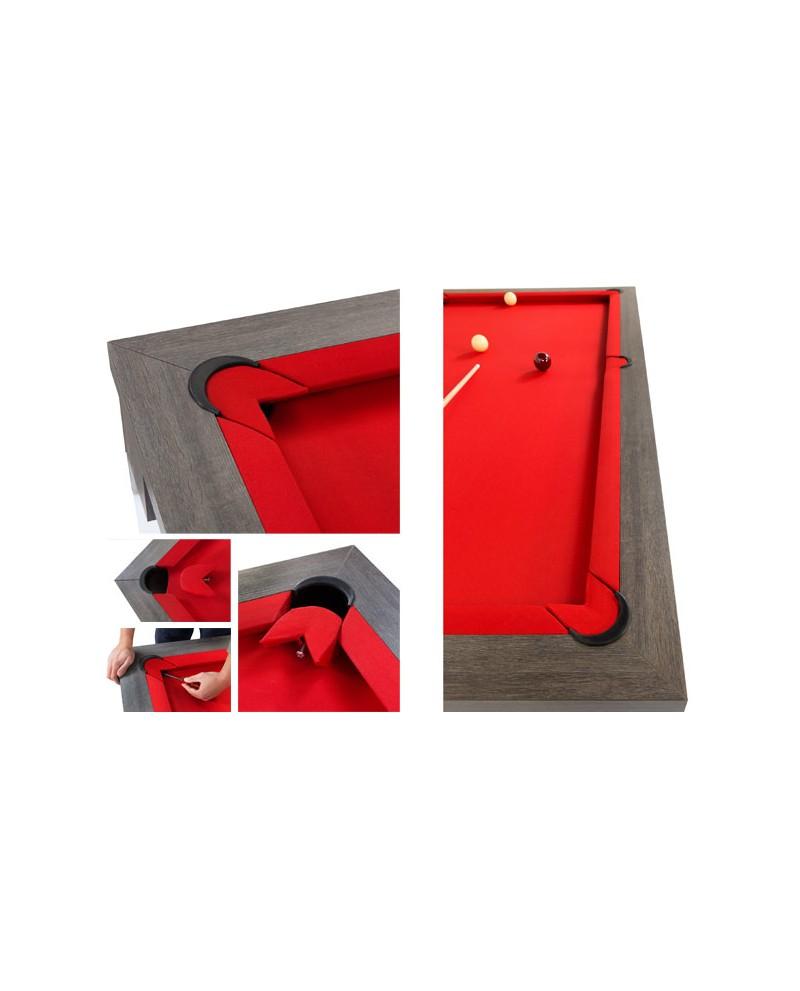 table billard convertible porto pas cher billard table 2. Black Bedroom Furniture Sets. Home Design Ideas