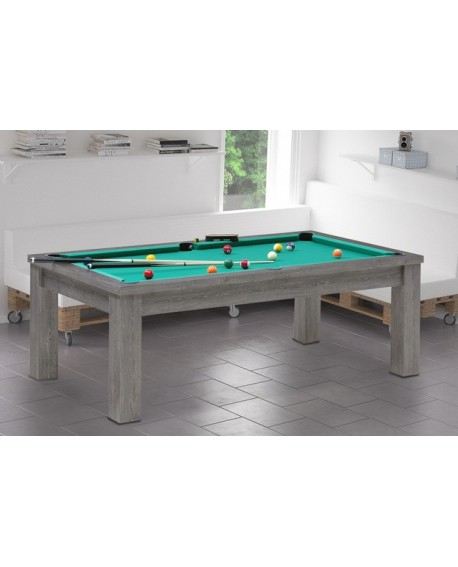Table billard convertible Salvador Chêne anthracite