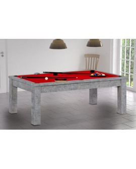 Table billard convertible Porto Gris