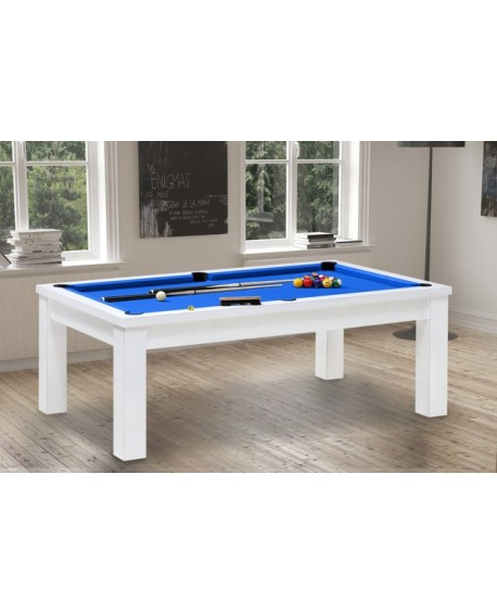 Table billard convertible Bahia blanc