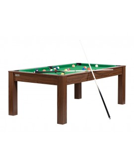 Table billard convertible 7ft Louxor wengé vert