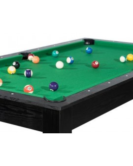 Table billard convertible 7ft Louxor noir vert