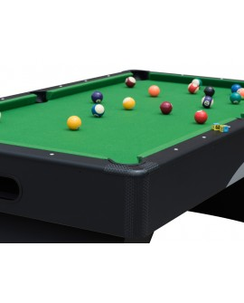 Table billard 7ft Oxford noir tapis vert