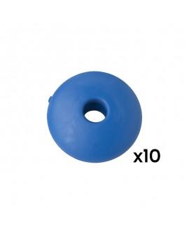 Billes de marque plastique bleu Stella