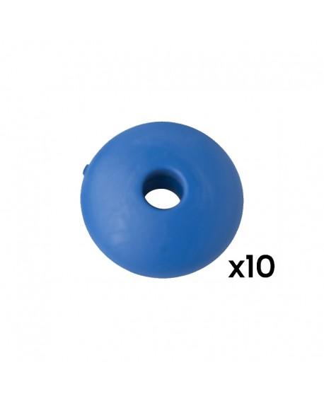 Bille de marque plastique bleu Stella