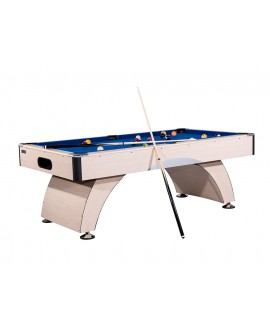 Table billard 7ft Oxford hêtre tapis bleu