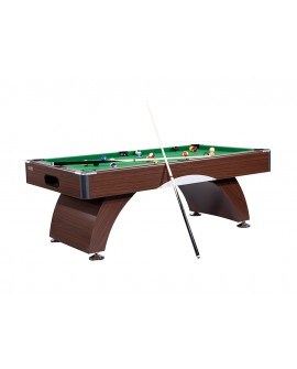 Table billard 7ft Oxford wengé tapis vert