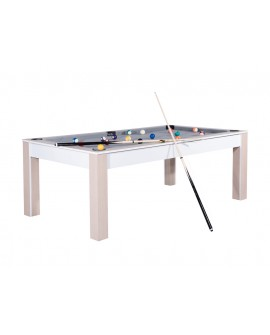 Table billard convertible 7ft Louxor Scandinave