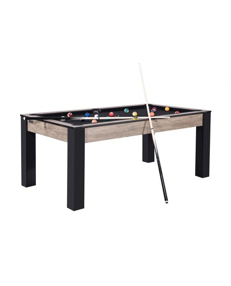Table billard convertible 6ft Delhi industriel