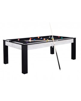 Table billard convertible 7ft Louxor Marbre