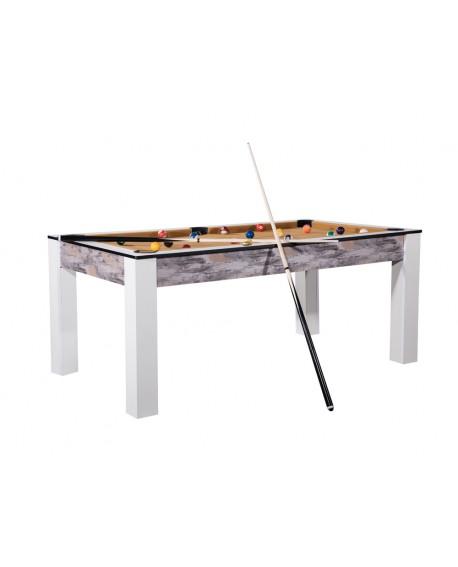 Table billard convertible 7ft Louxor Atelier