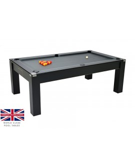 Table billard convertible Liverpool V2 Noir