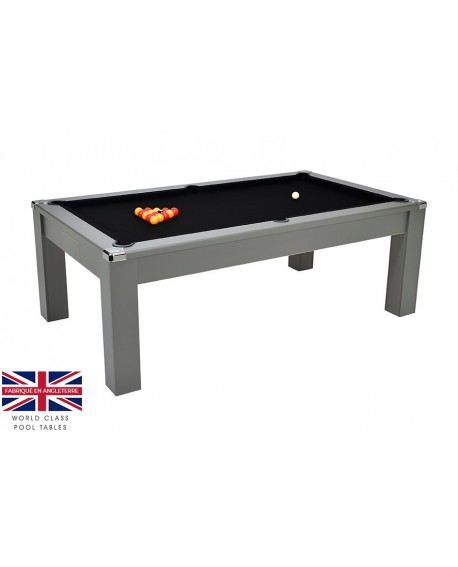 Table billard convertible Liverpool V2 Gris
