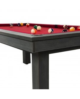 Table billard convertible René Pierre Lafite Grey