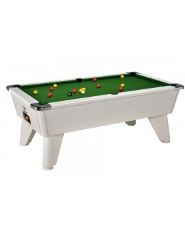 Table billard de café Omega blanc