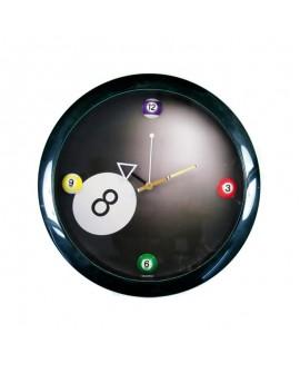 Horloge ronde billard américain