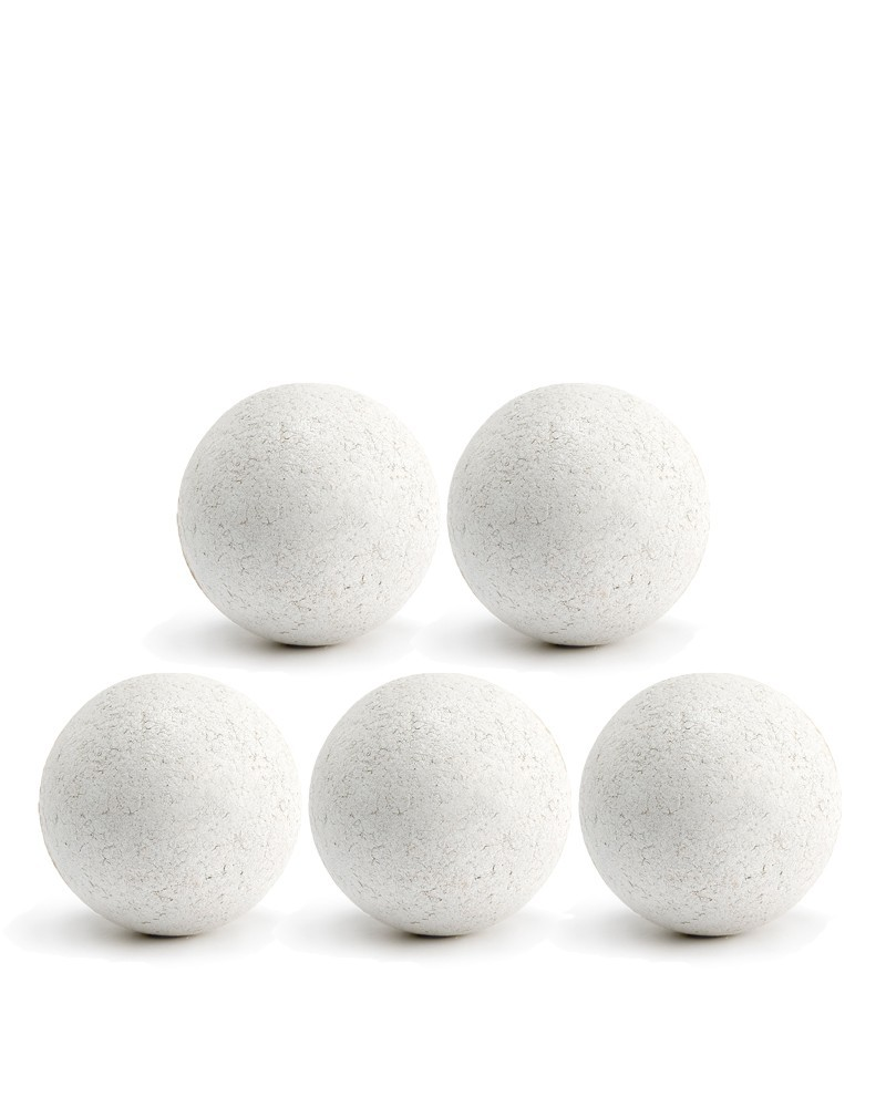 balles de baby foot blanches en li ge x5 pas cher accessoires baby foot. Black Bedroom Furniture Sets. Home Design Ideas