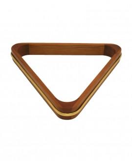 Triangle de billard Dimensions aux choix Bois et dorure