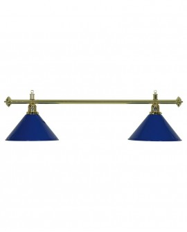 Luminaire 2 Globes bleus
