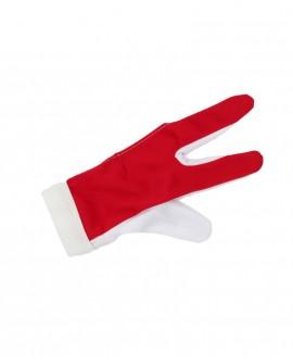 Gant de billard Rouge et Blanc