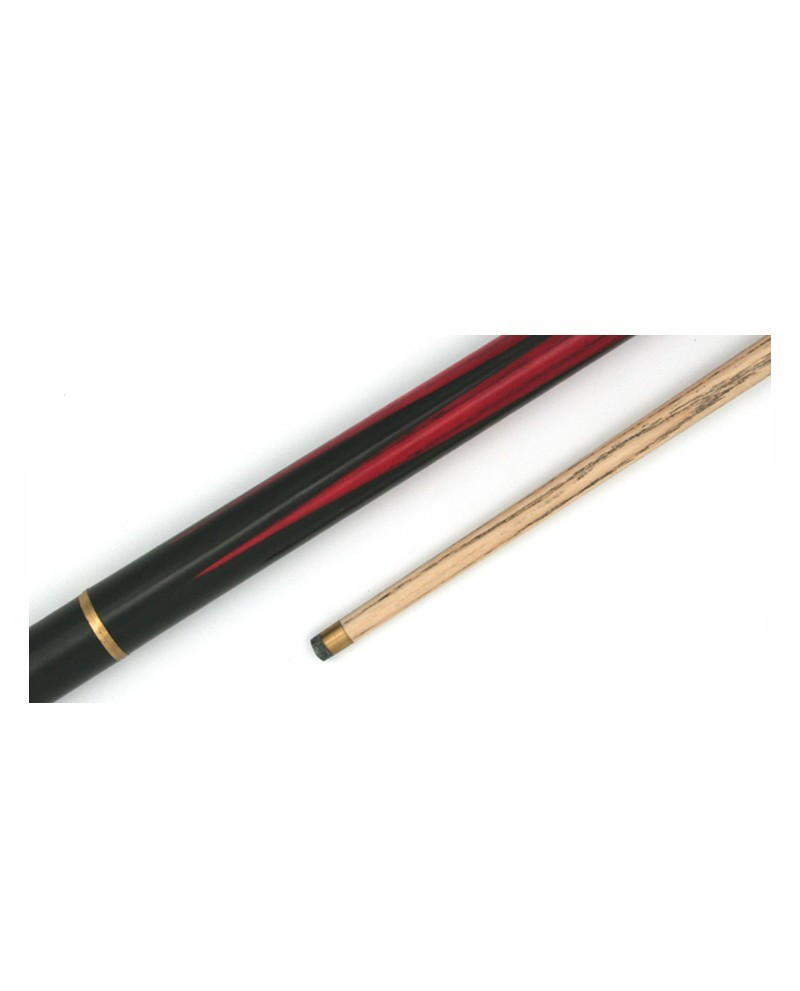 Queue de billard pool ou snooker 145cm 490g fr ne massif for Dimension queue de billard