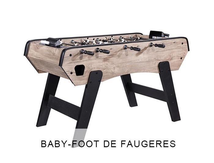 Baby foot De Faugères